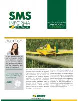 SMS Informa – Boletín Aerofumigaciones Calima Septiembre 2015