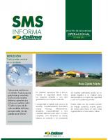 SMS Informa – Boletín Aerofumigaciones Calima Octubre 2015