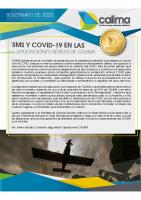 SMS – Informa – boletín Calima 2020